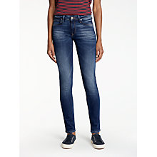 Buy Lee Scarlett Regular Waist Skinny Jeans, Night Sky Online at johnlewis.com