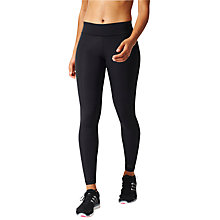 Buy Adidas Workout Yoga Tights, Black Online at johnlewis.com