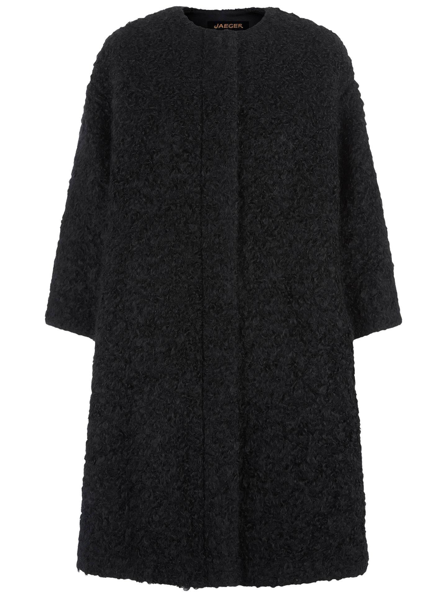282f47778258 Jaeger Wool Mohair Cocoon Coat
