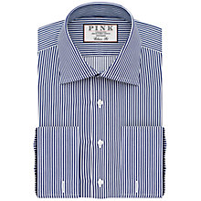 Buy Thomas Pink Grant Classic Fit XL Sleeve Double Cuff Stripe Shirt Online at johnlewis.com