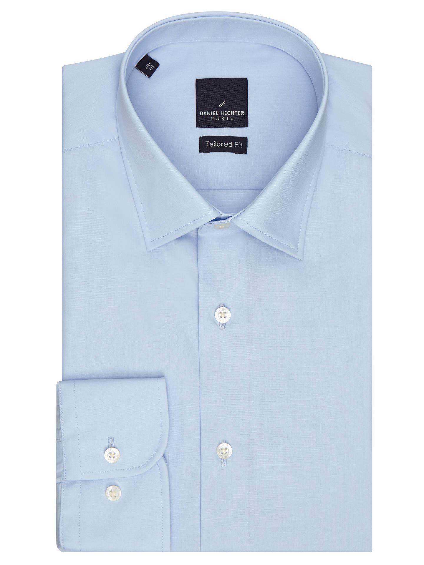 on sale 6951f 1deae Daniel Hechter Poplin Shirt at John Lewis & Partners