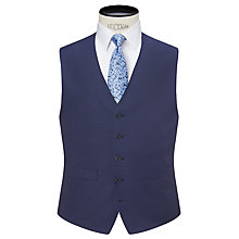 Buy Daniel Hechter Sharkskin Tailored Waistcoat, Indigo Online at johnlewis.com