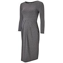 Buy Isabella Oliver Ivybridge Maternity Dress, Dark Grey Melange Online at johnlewis.com