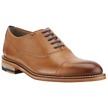 Buy Oliver Sweeney Lupton Leather Oxford Lace-Up Shoes, Tan Online at johnlewis.com