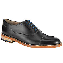 Buy Oliver Sweeney Lupton Leather Oxford Lace-Up Shoes, Black Online at johnlewis.com