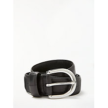 Buy John Lewis Gracie Leather Jeans Belt Online at johnlewis.com