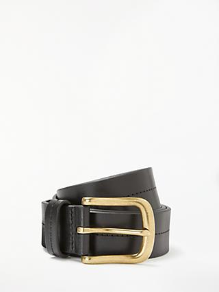 John Lewis & Partners Juliette Leather Jeans Belt
