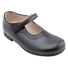 Buy Start-Rite Delphine Classics Leather Mary Jane School Shoes, Brown Online at johnlewis.com