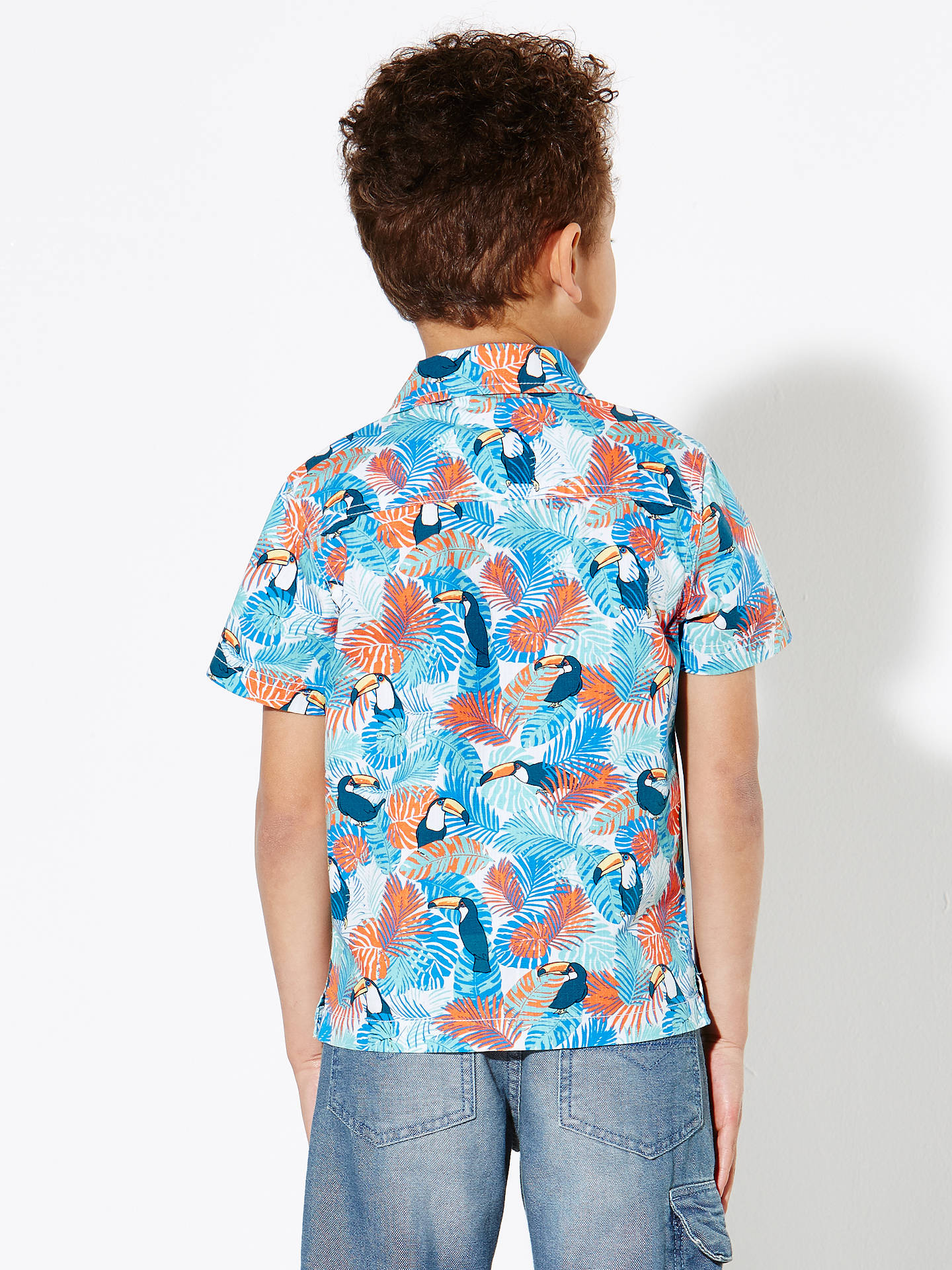 1e342d57b ... Buy John Lewis Boys' Toucan Print Shirt, Multi, 2 years Online at  johnlewis ...