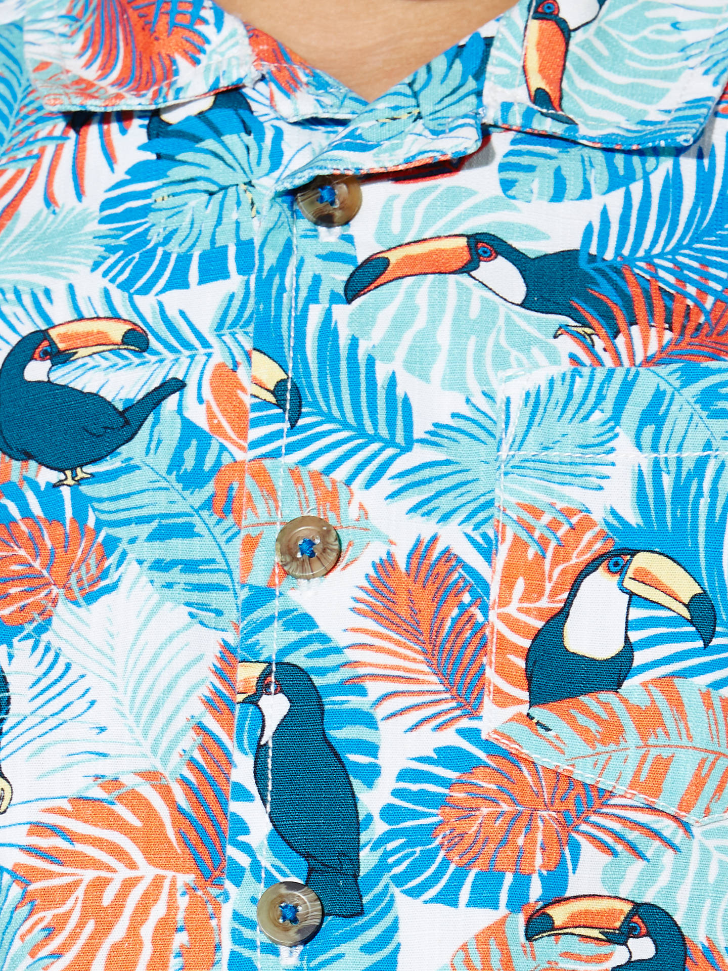 d5a2f68c2 ... Buy John Lewis Boys' Toucan Print Shirt, Multi, 2 years Online at  johnlewis