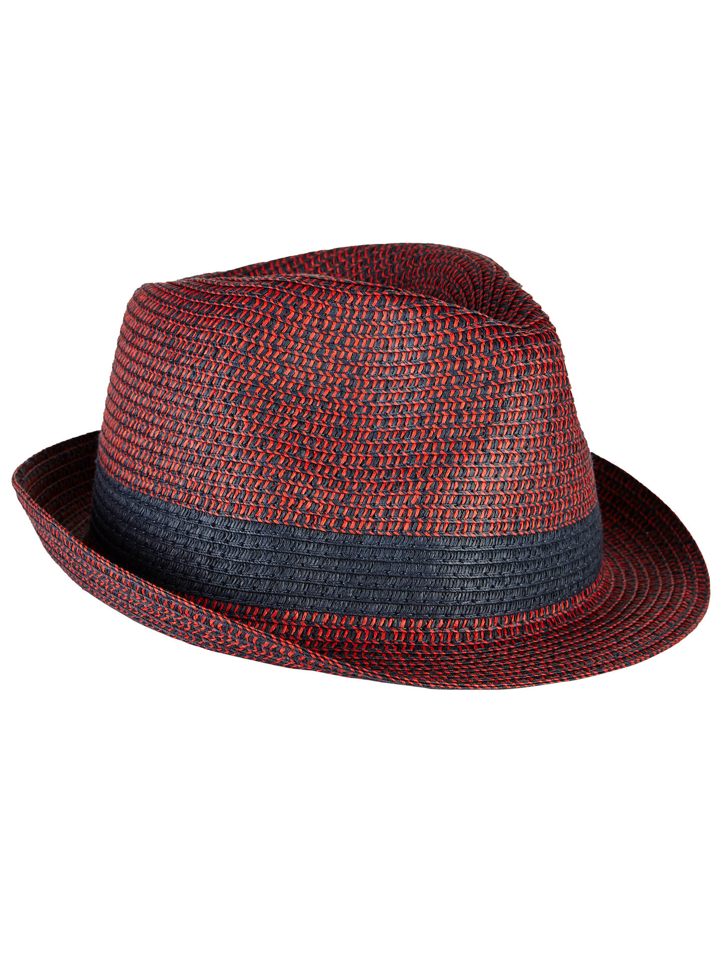 John Lewis Packable Braid Trilby Hat at John Lewis   Partners 7b5c8ef7d95d