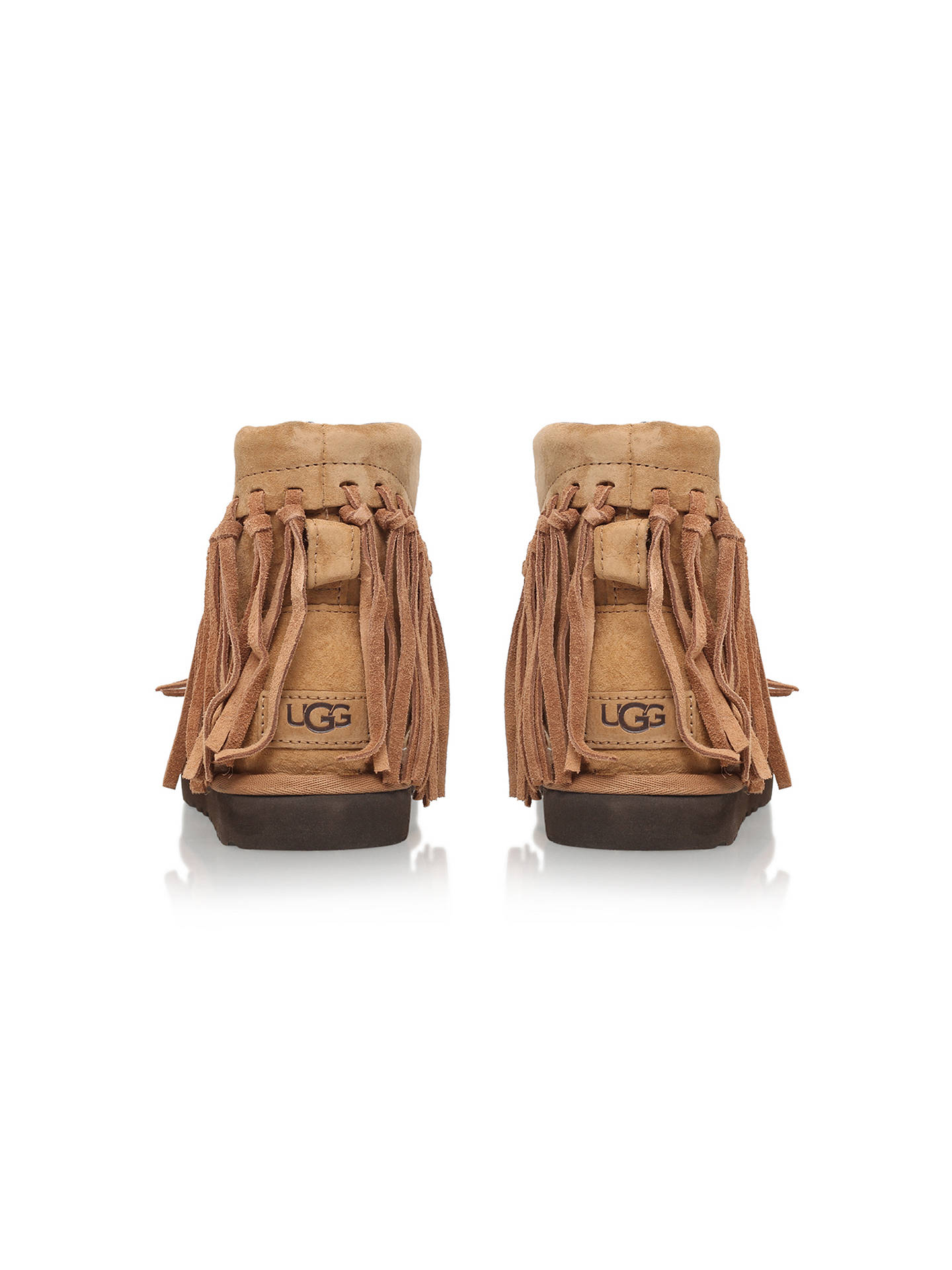 f12591353fb UGG Wynona Fringe Detail Ankle Boots at John Lewis & Partners