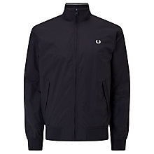 Buy Fred Perry Brentham Jacket, Navy Online at johnlewis.com