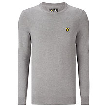 Buy Lyle & Scott Crew Neck Cotton Merino Jumper Online at johnlewis.com
