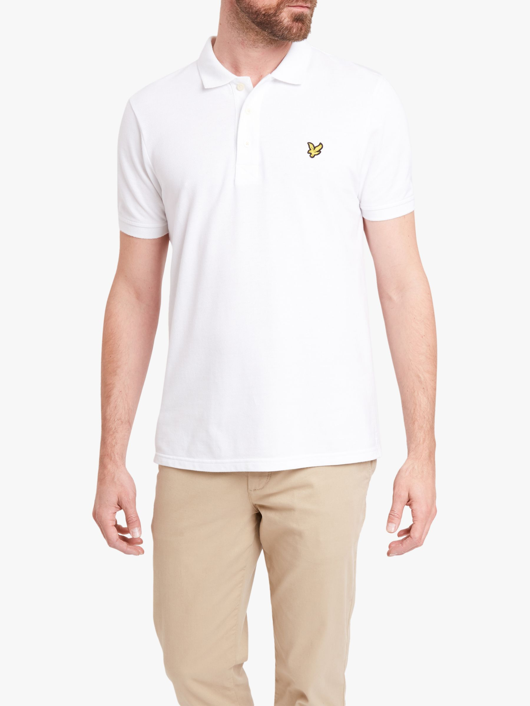 Lyle & Scott Lyle & Scott Plain Pique Polo Shirt