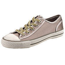 Buy Ash Viper Lace Up Flat Heeled Trainers, Taupe Online at johnlewis.com