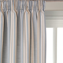 Buy John Lewis Alban Stripe Blackout Lined Pencil Pleat Curtains Online at johnlewis.com