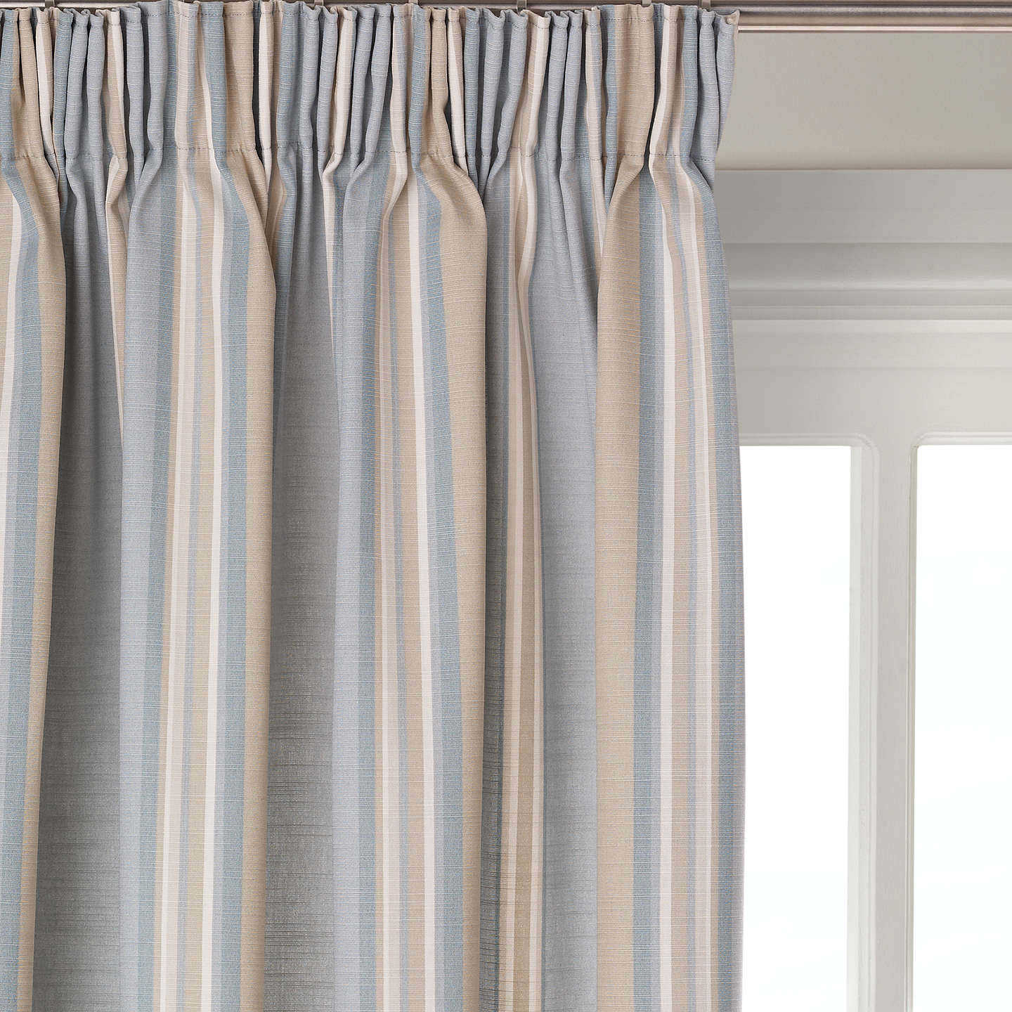 pair brown pattern polycotton print itm mustard striped yellow curtains blackout of