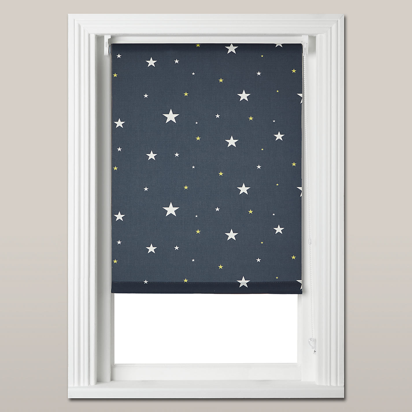 Cheap bathroom blinds uk - Buy John Lewis Starry Night Blackout Roller Blind Navy Online At Johnlewis Com