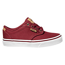 Buy Vans Children's Atwood Deluxe Washed Twill Lace-Up Shoes Online at johnlewis.com