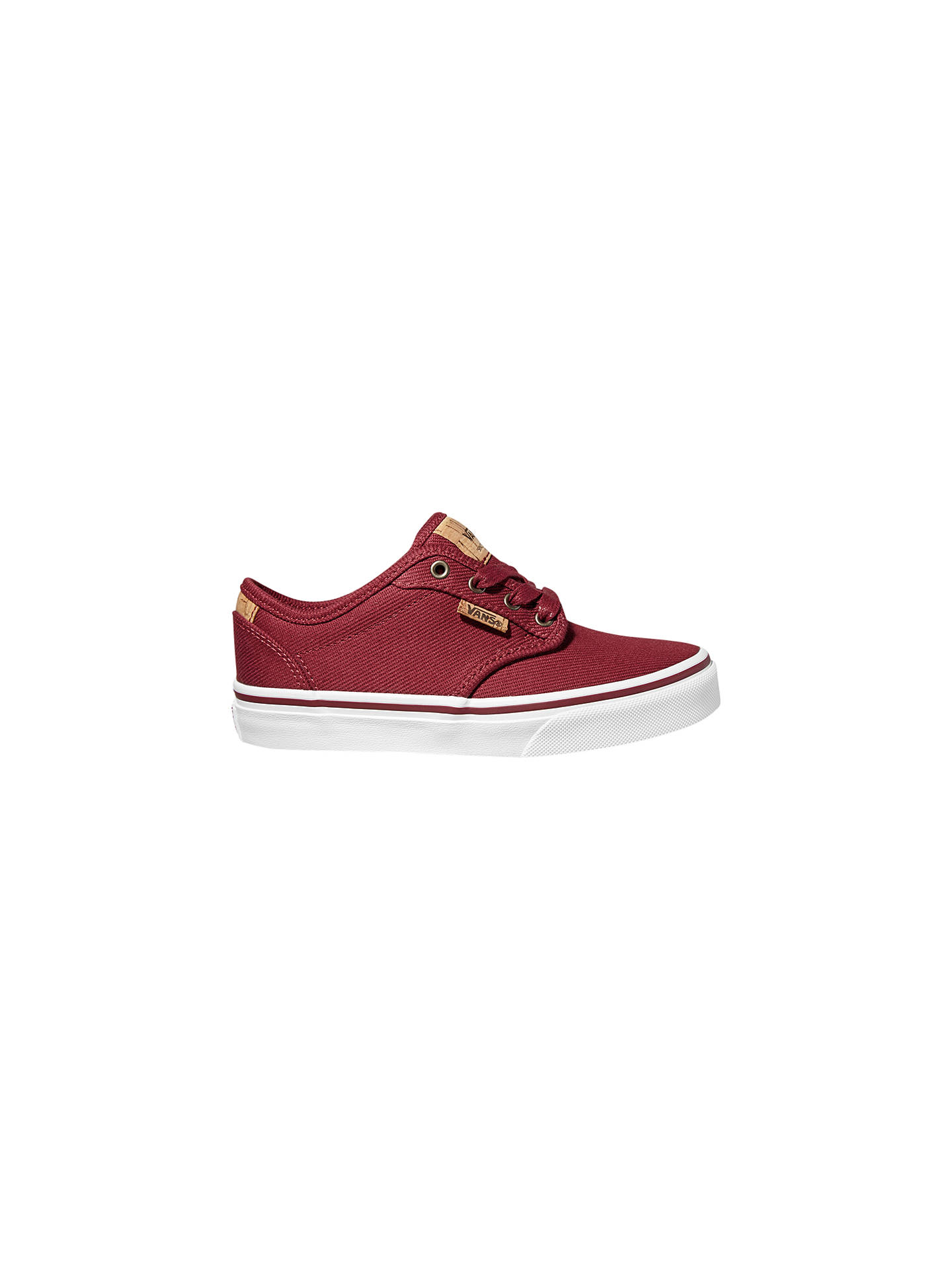 26bcdaf065 Vans Children s Atwood Deluxe Washed Twill Lace-Up Shoes at John ...