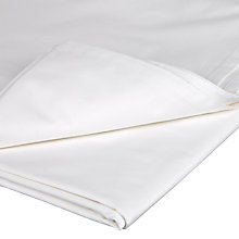 Buy John Lewis 400 Thread Count Cotton Percale Flat Sheet Online at johnlewis.com