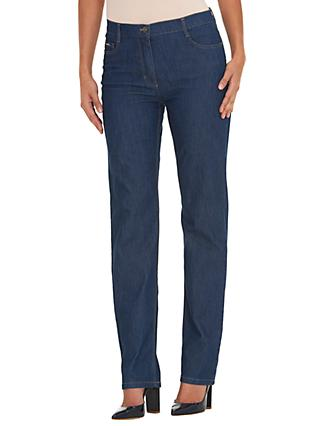 Betty Barclay Perfect Body 5 Pocket Jeans, Blue Denim