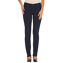 Buy Betty Barclay Perfect Body 5 Pocket Jeans, Deep Blue Denim Online at johnlewis.com