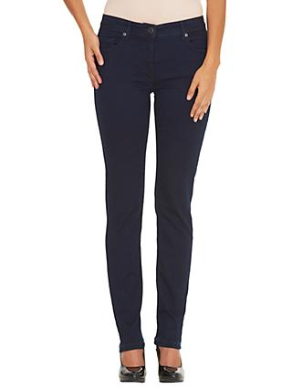 Betty Barclay Perfect Slim 5 Pocket Jeans, Deep Blue Denim