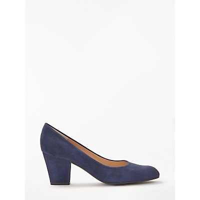 John Lewis Alma Block Heeled Court Shoes