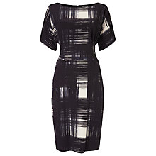 Buy Phase Eight Joan Check Dress, Navy/Ivory Online at johnlewis.com