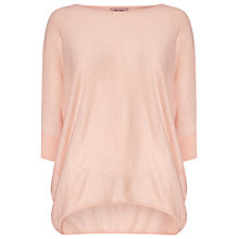 Buy Phase Eight Becca Batwing Jumper, Powder Pink Online at johnlewis.com