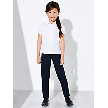 Buy John Lewis Girls' Slim Fit Soft Stretch School Trousers Online at johnlewis.com