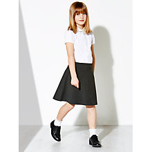 Buy John Lewis Girls' Easy Care Adjustable Waist Skater School Skirt Online at johnlewis.com