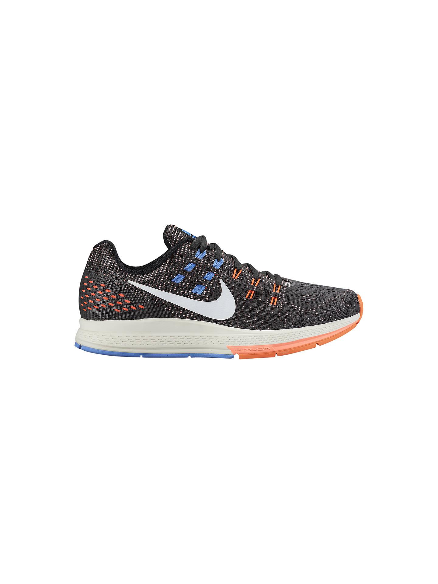 huge discount 03709 6c859 Buy Nike Air Zoom Structure 19 Women s Running Shoes, Black Orange Blue, ...