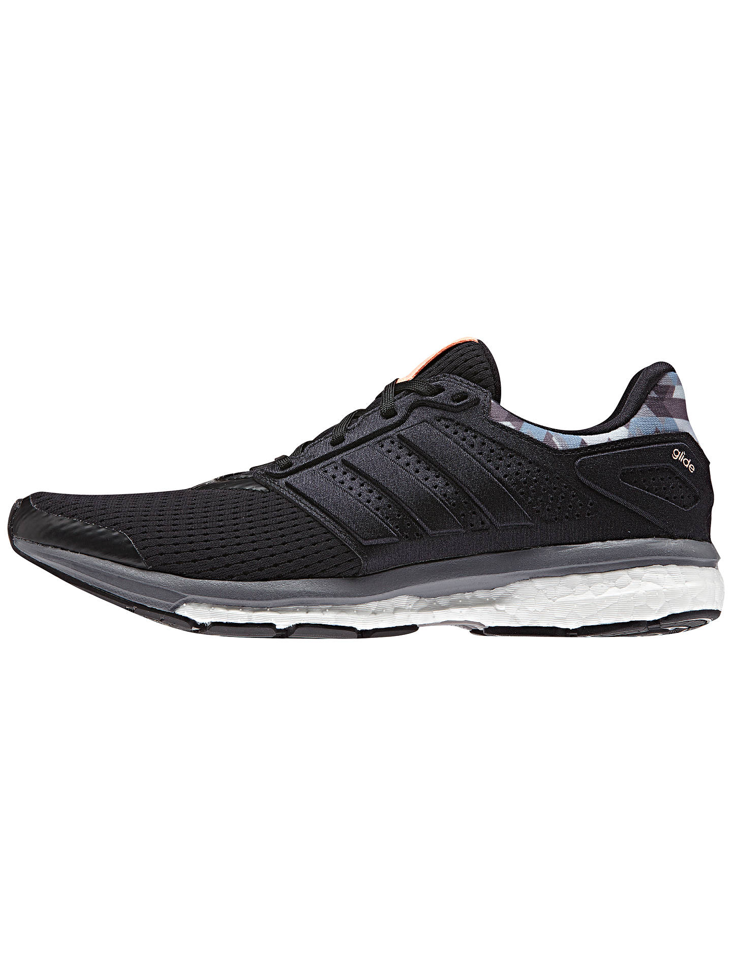 the best attitude f3aeb 19488 Buy Adidas Supernova Glide 8 Women s Running Shoes, Black, 4 Online at  johnlewis.