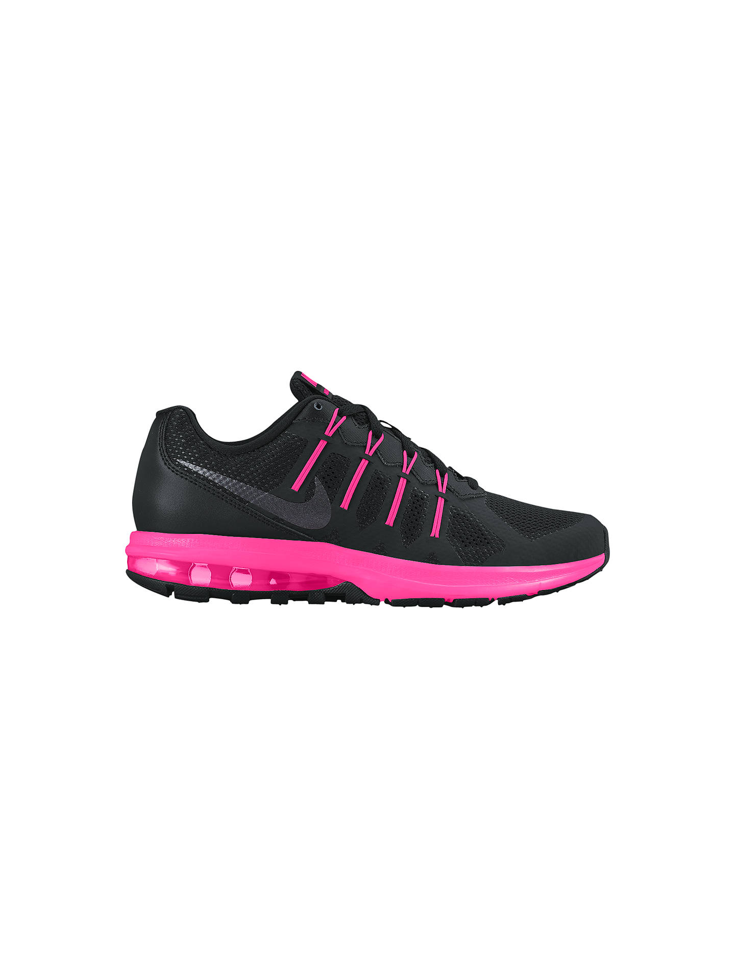 buy online 7abef 6bdec Buy Nike Air Max Dynasty Women s Running Shoes, Black Pink, 4 Online at ...