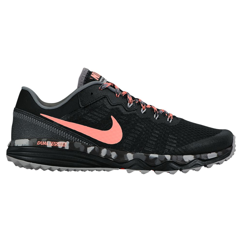 more photos 7607a d1a0f Nike Dual Fusion Trail 2 Women s Running Shoe, Black Pink at John Lewis    Partners