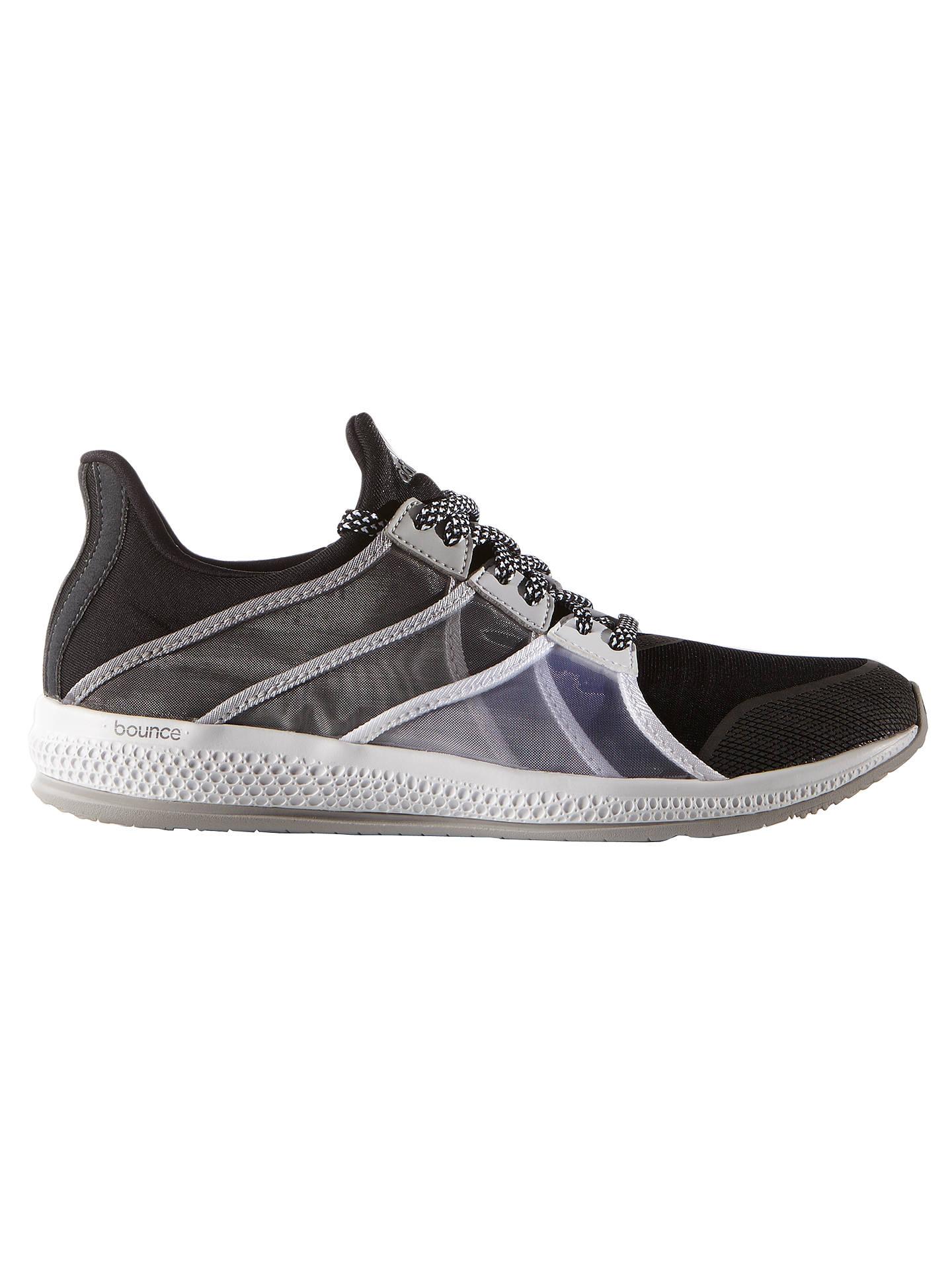 Polar Negligencia caja registradora  Adidas Gymbreaker Bounce Women's Cross Trainers, Black/White at John Lewis  & Partners