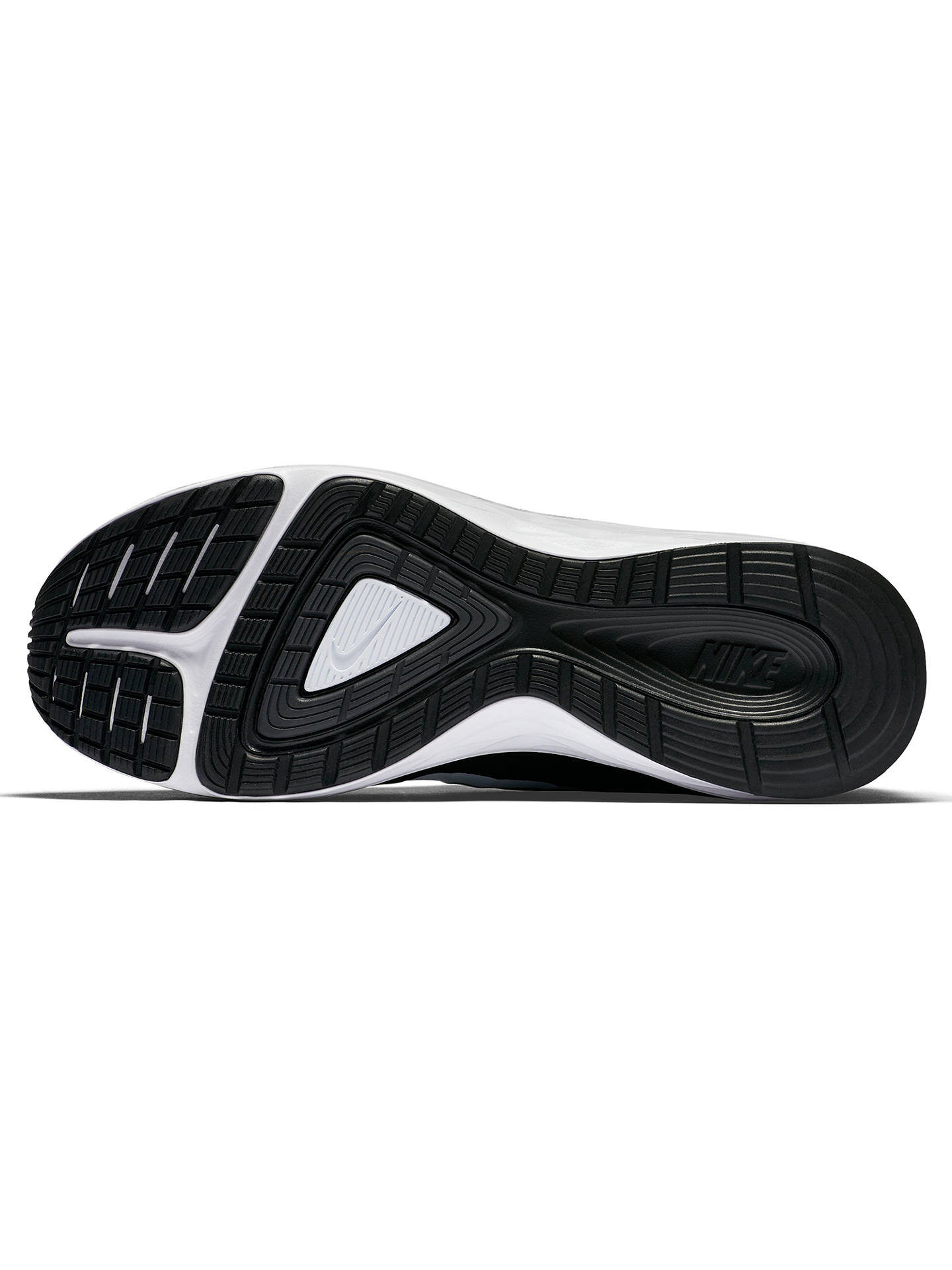 Comprimido Aburrido Facultad  Nike Dual Fusion X 2 Men's Running Shoes, Black/White at John Lewis &  Partners