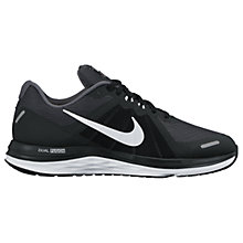 Buy Nike Dual Fusion X 2 Women's Running Shoes, Black/White Online at johnlewis.com