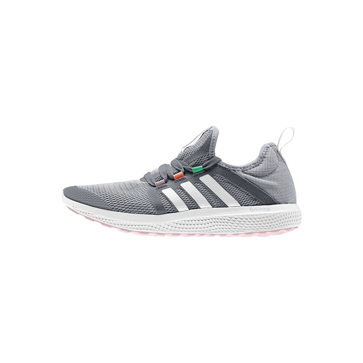Adidas Climacool Fresh Bounce Women S Running Shoes Grey 4 Online At Johnlewis