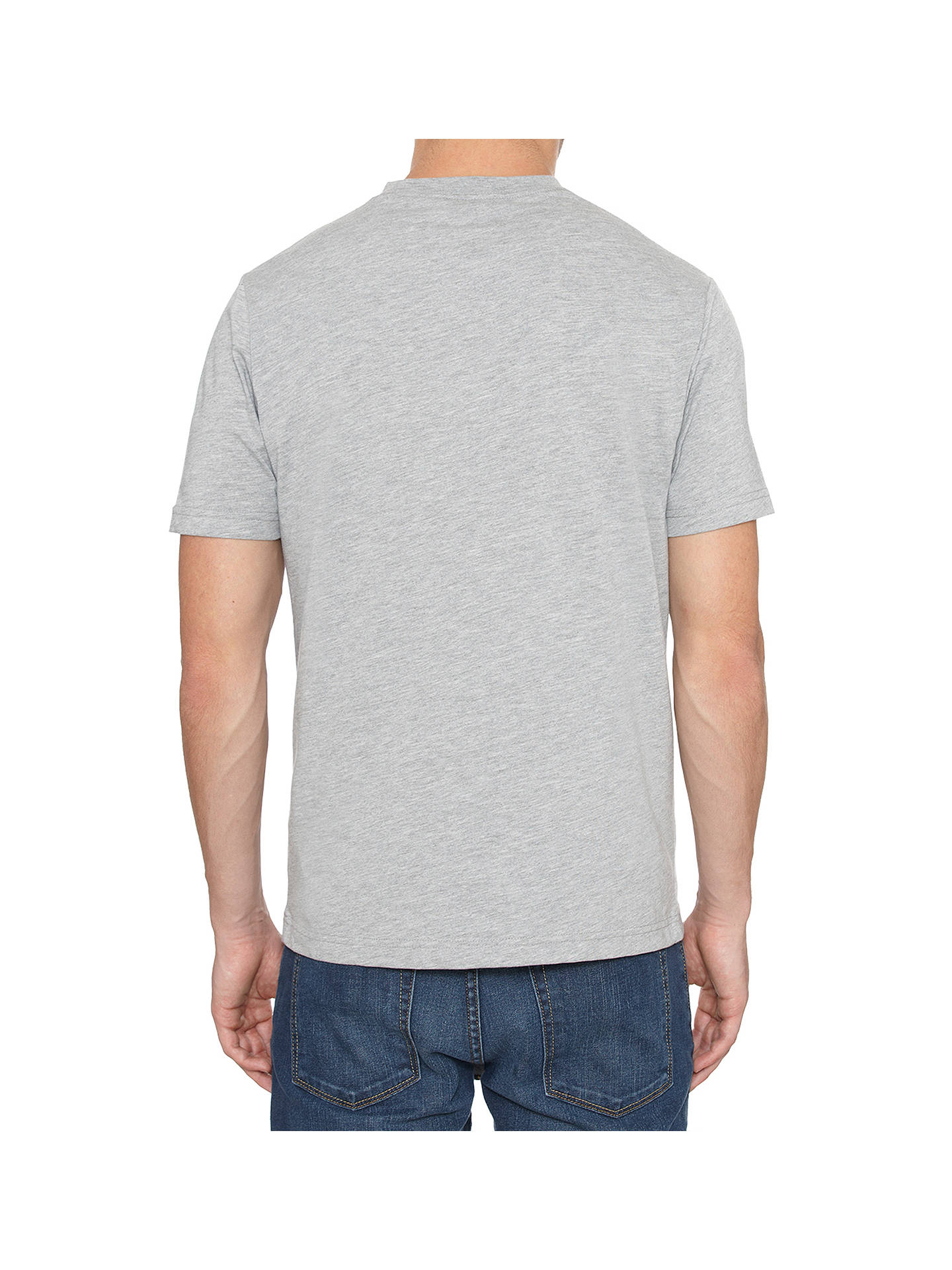BuyOriginal Penguin Pin Point T-Shirt, Rain Heather, S Online at johnlewis.com