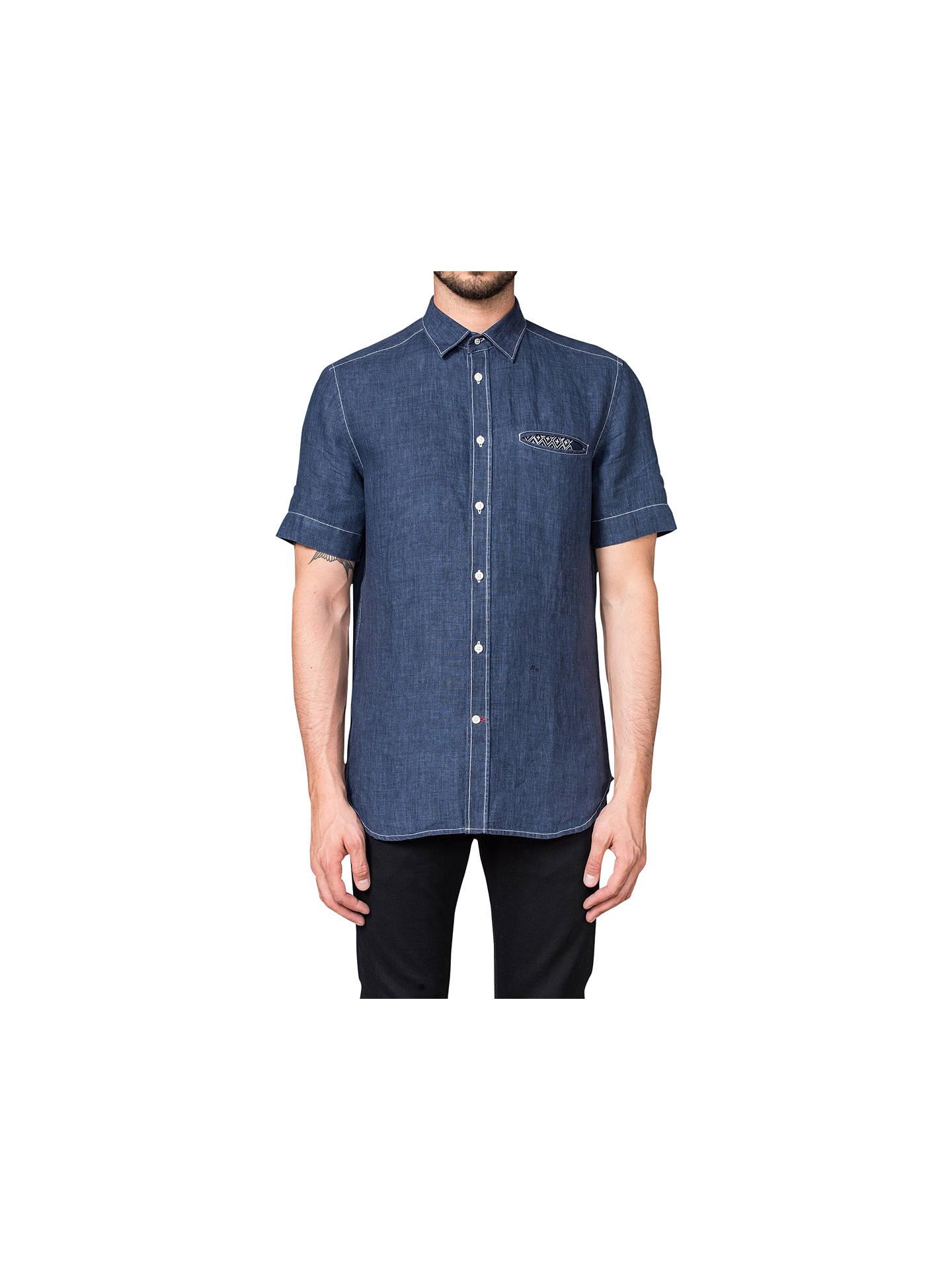 18067824a9a Diesel S-Emiko Denim Shirt at John Lewis   Partners