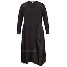 Buy Chesca Taffeta Puff Dress, Black Online at johnlewis.com