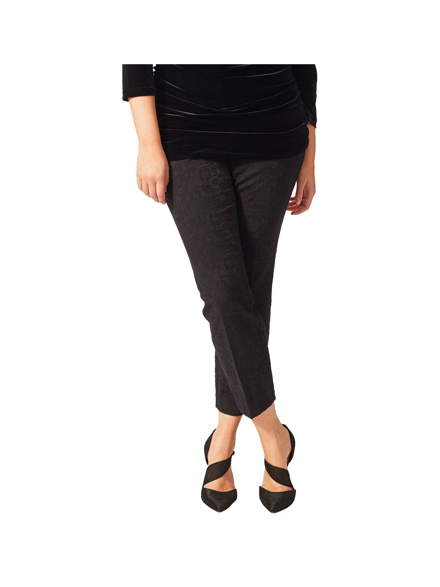 BuyStudio 8 Darina Tapered Trousers, Black, 16 Online at johnlewis.com