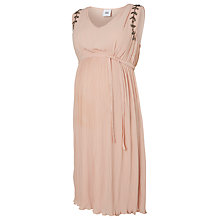 Buy Mamalicious Helga Maternity Dress, Blush Online at johnlewis.com
