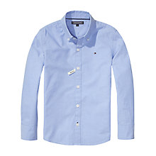 Buy Tommy Hilfiger Boys' Oxford Shirt, Light Blue Online at johnlewis.com