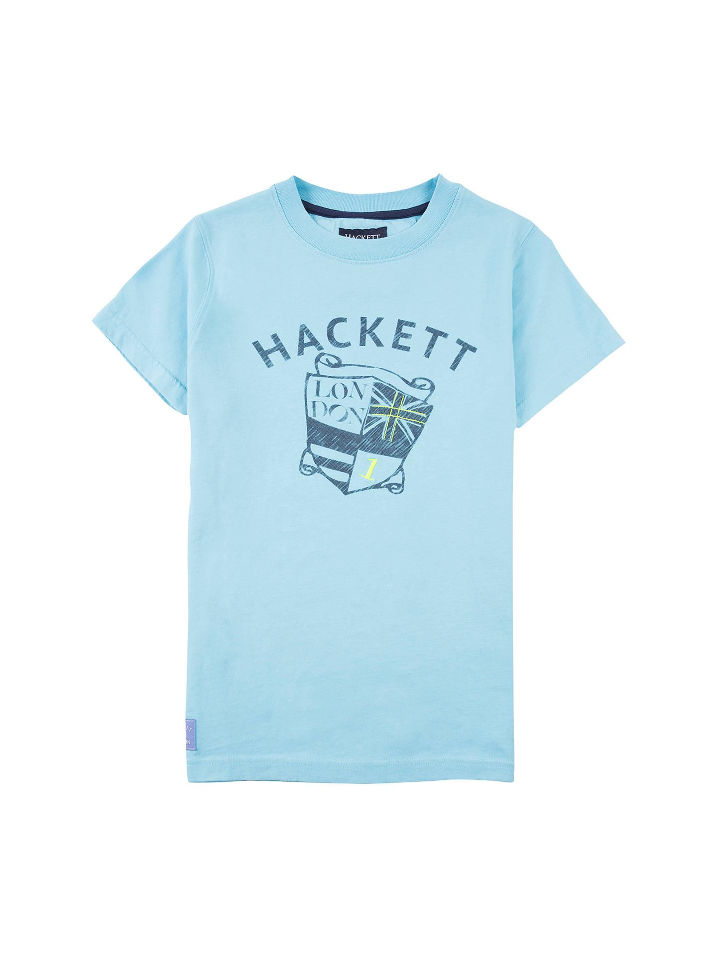 cheap sale good texture the best Hackett London Boys' Shield T-Shirt at John Lewis & Partners