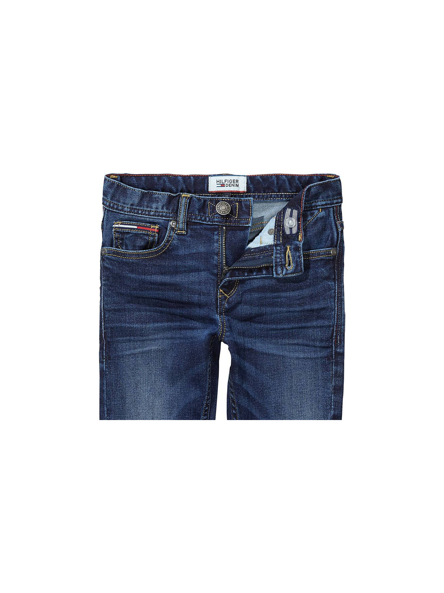 91ac55f1 ... Buy Tommy Hilfiger Boys' Scanton Slim Fit Jeans, Indigo, 2 years Online  at